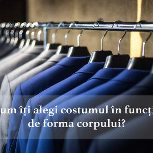 Cum să îți alegi costumul perfect în funcție de forma corpului
